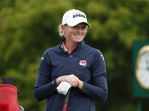 Stacy Lewis pulls out of Solheim Cup with back injury