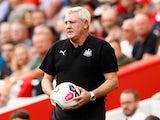 Newcastle boss Steve Bruce pictured on September 14, 2019