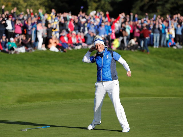 Result: Wildcard Suzann Pettersen putts winner as Europe regain Solheim Cup