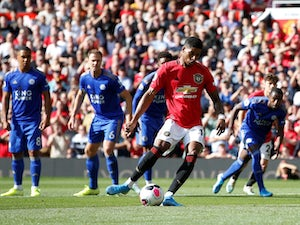 Rashford penalty sees United overcome Leicester
