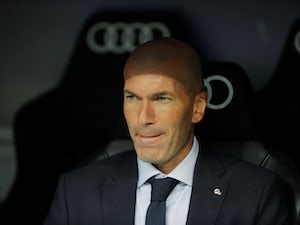 Real Madrid manager Zinedine Zidane pictured on September 14, 2019