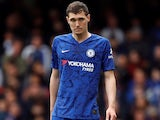 Andreas Christensen in action for Chelsea on May 5, 2019