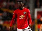 Axel Tuanzebe in action for Manchester United on September 19, 2019