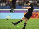 Beauden Barrett in action for New Zealand on September 21, 2019
