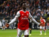 Bukayo Saka in action for Arsenal on September 19, 2019