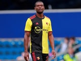 Christian Kabasele in action for Watford in pre-season on July 27, 2019