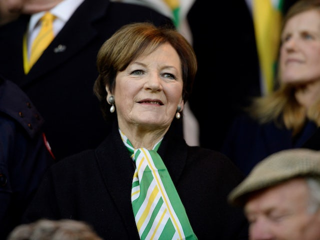 Norwich owner Delia Smith pictured in April 2019