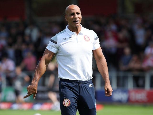 Oldham Athletic confirm Dino Maamria departure