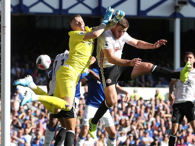 Result: Everton stung by dogged Sheffield United