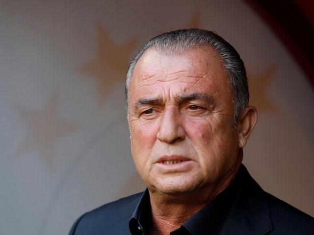 Galatasaray coach Fatih Terim pictured in May 2019