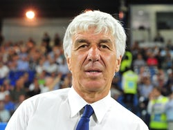 Atalanta coach Gian Piero Gasperini pictured on August 25, 2019