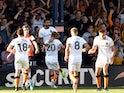 Hull City's Kevin Stewart celebrates scoring their third goal against Luton Town on September 21, 2019