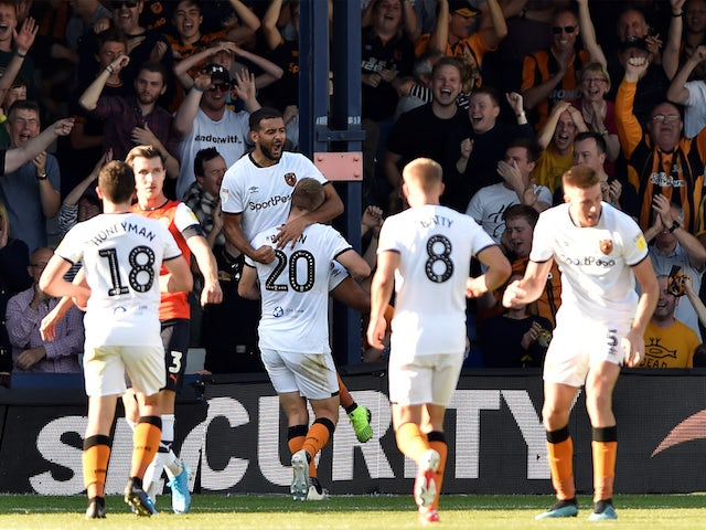 Result: Impressive Hull pick up overdue win at Luton
