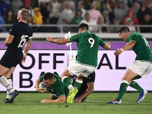 Ireland punish disappointing Scotland in World Cup opener