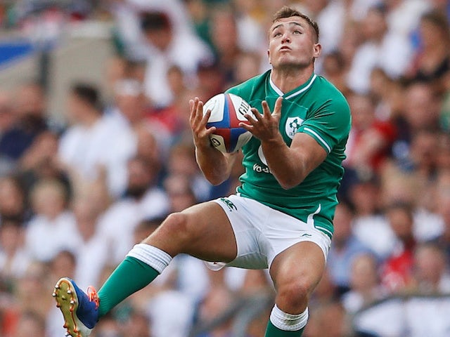Jordan Larmour ruled out of Ireland's remaining Six Nations games