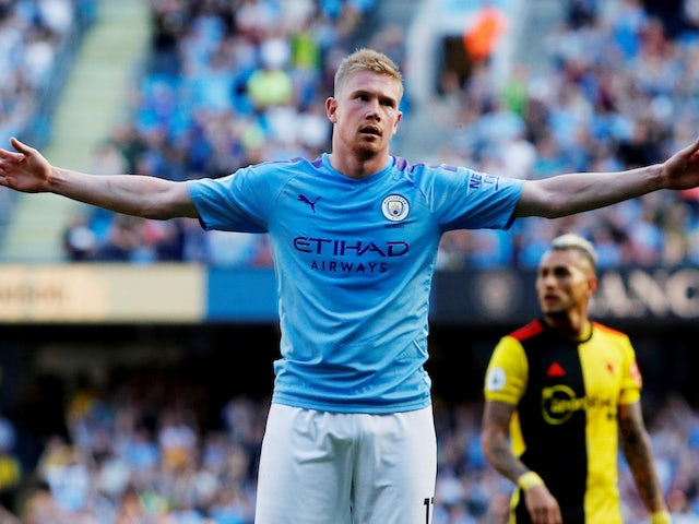 The mighty Kevin De Bruyne makes it eight for Man City on September 21, 2019