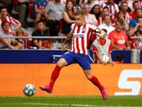 Atletico Madrid's Kieran Trippier in action on September 1, 2019