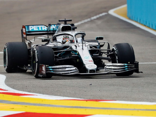 Mercedes needs update to catch Ferrari - Hamilton