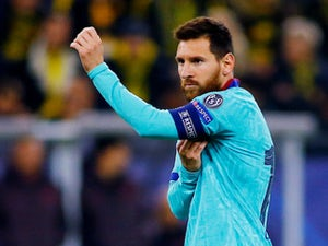 Lionel Messi pays tributes to teammates after winning record sixth Golden Shoe