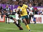 Result: Australia survive Fiji scare to win World Cup opener