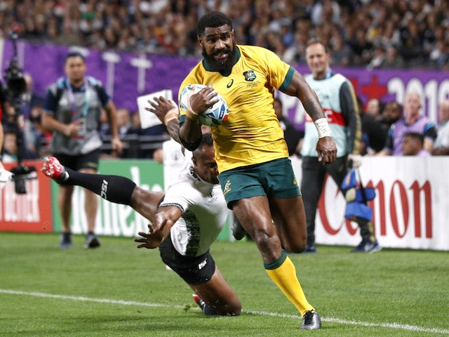 Result: Australia survive Fiji scare to win World Cup opener