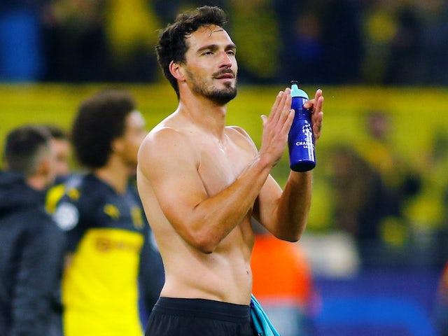 Borussia Dortmund optimistic of Mats Hummels fitness for Bayern Munich clash