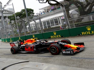 Max Verstappen leads way in first Singapore Grand Prix practice