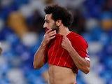 Mohamed Salah in action for Liverpool on September 17, 2019