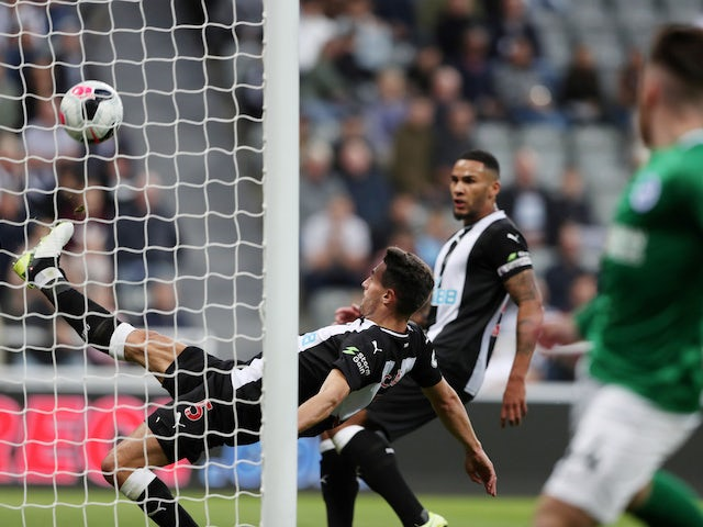 Result: Fabian Schar clearance rescues Newcastle point at home to Brighton
