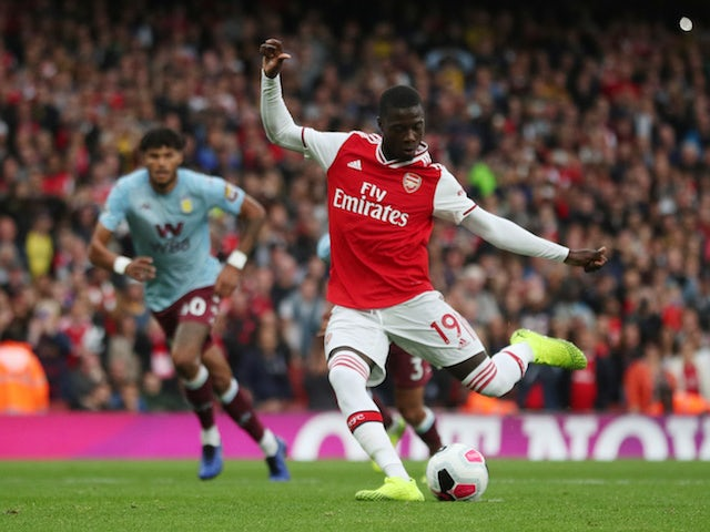 Bernd Leno: 'Nicolas Pepe unbelievable in training'