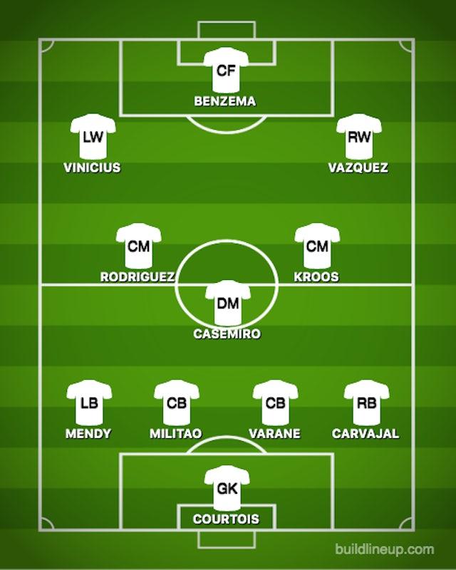Possible RMA XI vs. PSG