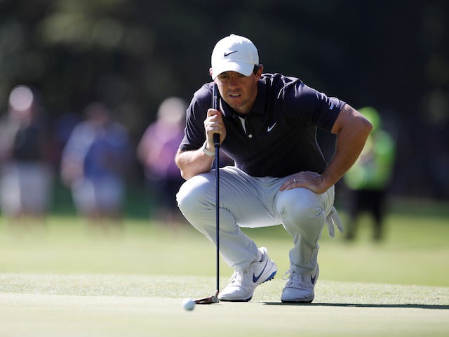 Rory McIlroy back in Dubai contention