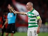 Scott Brown in action for Celtic on September 19, 2019
