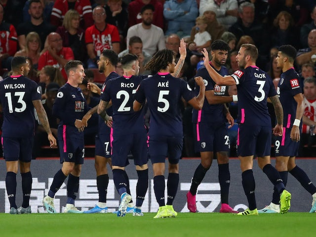 Result: Bournemouth claim first ever win away at Southampton
