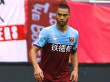 West Ham United defender Winston Reid pictured in July 2019