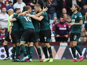 Chris Wood header saves late point for Burnley at Villa