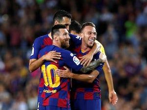 Messi injured again as Barca beat Villarreal