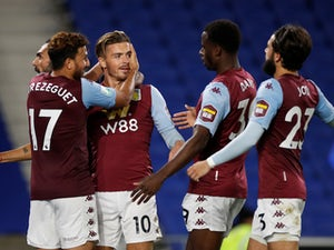 Aston Villa ease past Brighton into EFL Cup fourth round