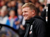 Bournemouth boss Eddie Howe is all smiles on September 28, 2019