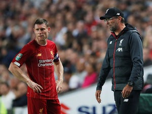 Jurgen Klopp heaps praise on James Milner, Harvey Elliott