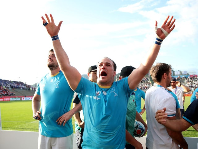 Day six at the Rugby World Cup: Uruguay stun Fiji