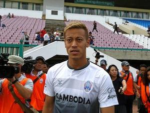 Keisuke Honda offers himself to Man United