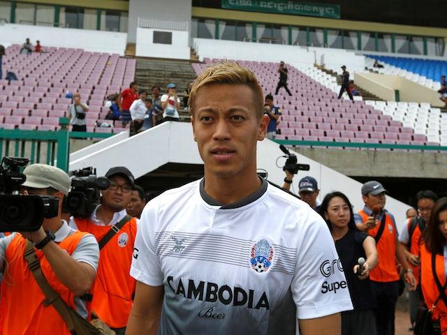 Former Japan international Keisuke Honda pictured in September 2018