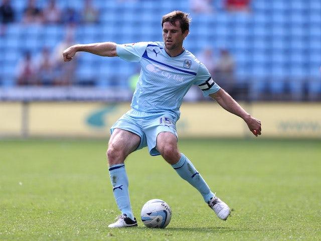 Kevin Kilbane in action for Coventry City in September 2012