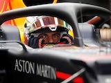 Max Verstappen in action on September 27, 2019