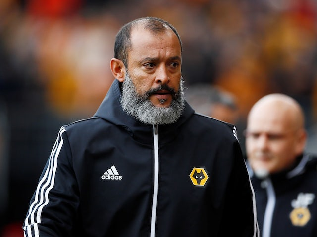 Wolves boss Nuno Espirito Santo on September 28, 2019