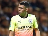 Phil Foden in action for Man City in the EFL Cup on September 24, 2019