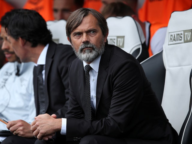 Derby boss Phillip Cocu pleased with