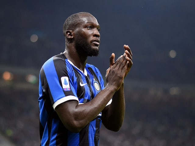 Romelu Lukaku in action for Inter Milan on September 25, 2019