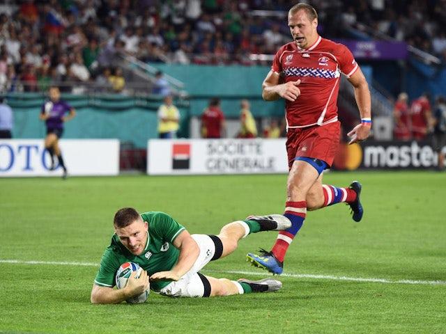 Result: Sloppy Ireland labour to bonus-point win over Russia